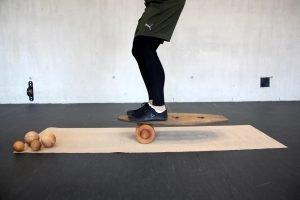 Rollholz Rollbrett nachhaltiger Sport