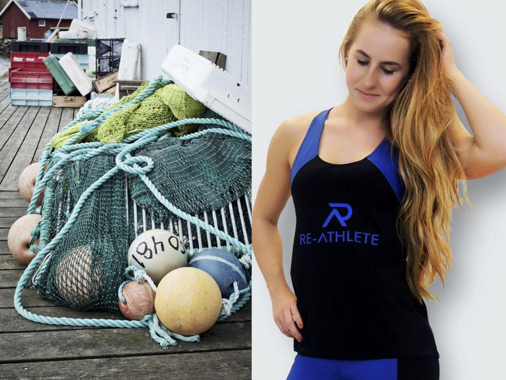 achhaltige Sportbekleidung aus alten Fischernetzen nachhaltiger sport