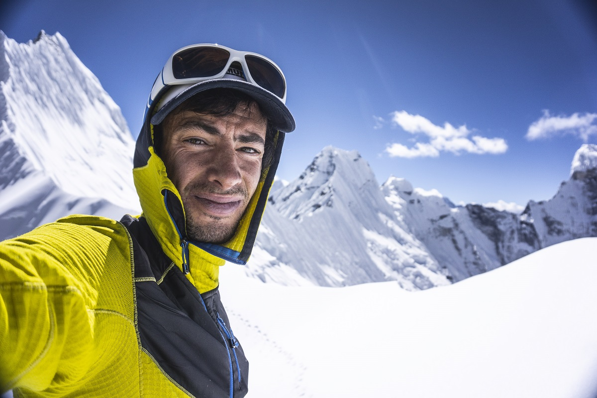 Kilian Jornet fondo nieve