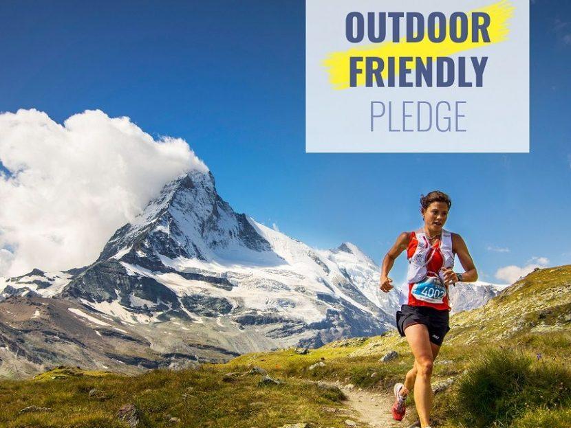 Outdoor Friendly Pledge Nachhaltikgeitsförderung