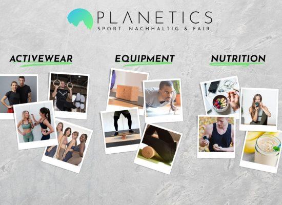 Planetics: Nachhaltige und faire Sportartikel